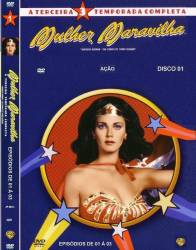 DVD MULHER MARAVILHA 3 TEMP - 8 DVDs - 24 EP