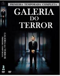 DVD GALERIA DO TERROR - 1 TEMP - 3 DVDs