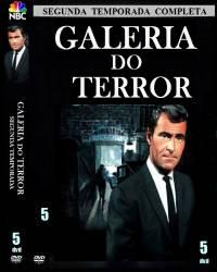 DVD GALERIA DO TERROR - 2 TEMP - 5 DVDs