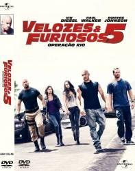 DVD VELOZES & FURIOSOS 5: OPERAÇAO RIO