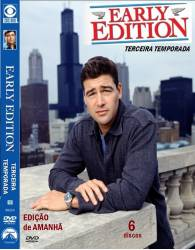 DVD EDIÇAO DE AMANHA - EARLY EDITION - 3 TEMP - 6 DVDs