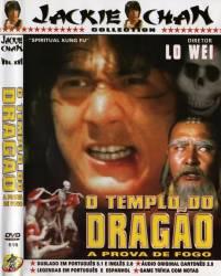 DVD O TEMPLO DO DRAGAO - JACKIE CHAN