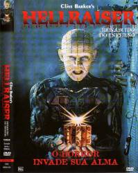 DVD HELLRAISER - RENASCIDO DO INFERNO - 1987