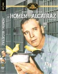 DVD O HOMEM DE ALCATRAZ - BURT LANCASTER - 1962