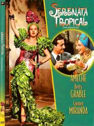 DVD SERENATA TROPICAL - CARMEN MIRANDA - 1940