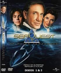 DVD SEAQUEST - MISSAO SUBMARINA - 1 TEMP - 6 DVDs