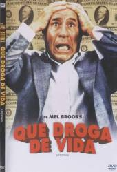 DVD QUE DROGA DE VIDA - 1991