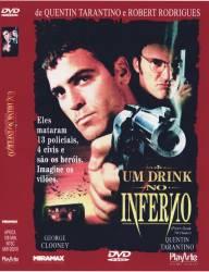 DVD UM DRINK NO INFERNO - GEORGE CLOONEY