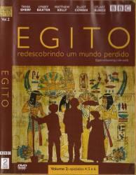 DVD EGITO - REDESCOBRINDO UM MUNDO PERDIDO - VOL 2 - BBC