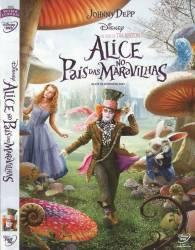 DVD ALICE NO PAIS DAS MARAVILHAS - JOHNNY DEPP