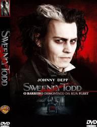 DVD SWEENEY TODD - O BARBEIRO DEMONIACO DA RUA FLEET