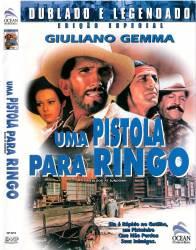 DVD UMA PISTOLA PARA RINGO - 1965 - GIULLIANO GEMMA