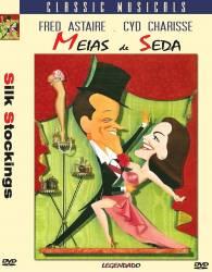 DVD MEIAS DE SEDA - FRED ASTAIRE -1957