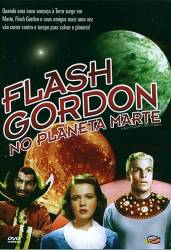 DVD FLASH GORDON NO PLANETA MARTE - BUSTER CRABBE - 1938