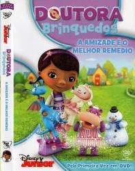 DVD DOUTORA BRINQUEDO - A AMIZADE E O MELHOR REMEDIO