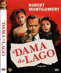 DVD A DAMA DO LAGO - ROBERT MONTGOMERY - 1947