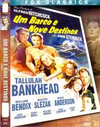 DVD UM BARCO E NOVE DESTINOS - 1943 - ALFRED HITCHCOCK