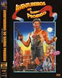 DVD AVENTUREIROS DO BAIRRO PORIBIDO - KURT RUSSELL