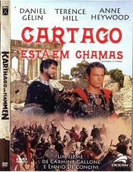 DVD CARTAGO ESTA EM CHAMAS - TERENCE HILL - 1960