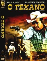 DVD O TEXANO - FAROESTE - AUDIE MURPHY