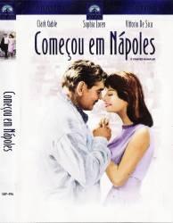 DVD COMEÇOU EM NAPOLES - CLARK GABLE