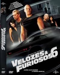 DVD VELOZES E FURIOSOS 6