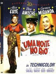 DVD UMA NOITE NO RIO - 1941