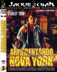 DVD ARREBENTANDO EM NOVA YORK - JACKIE CHAN