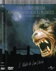 DVD UM LOBISOMEM AMERICANO EM LONDRES - 1981