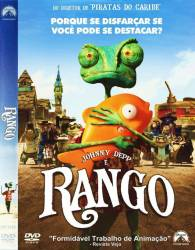 DVD RANGO - JOHNNY DEPP