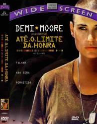 DVD ATE O LIMITE DA HONRA - DEMI MOORE