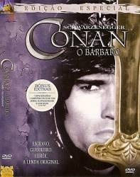 DVD CONAN - O BARBARO - ARNOLD SCHWARZENEGGER
