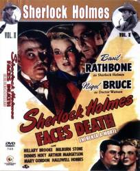 DVD SHERLOCK HOLMES ENFRENTA A MORTE - 1943