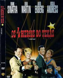 DVD OS 4 HEROIS DO TEXAS - FRANK SINATRA - 1963