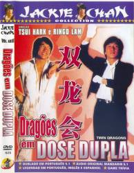 DVD DRAGOES EM DOSE DUPLA - JACKIE CHAN