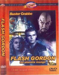 DVD FLASH GORDON NO PLANETA MONGO - 1936