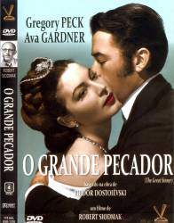 DVD O GRANDE PECADOR - GREGORY PECK - 1949