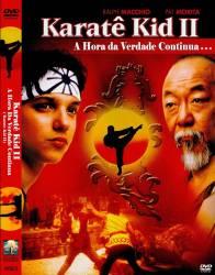DVD KARATE KID 2 - A HORA DA VERDADE CONTINUA - PAT MORITA