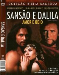 DVD SANSAO E DALILA - Dennis Hopper - 1996