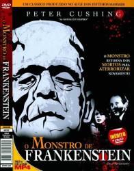 DVD O MONSTRO DE FRANKENSTEIN - PETER CUSHING