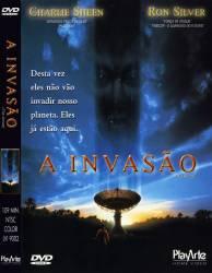 DVD A INVASAO - CHARLIE SHEEN