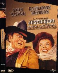 DVD JUSTICEIRO IMPLACAVEL - JOHN WAYNE