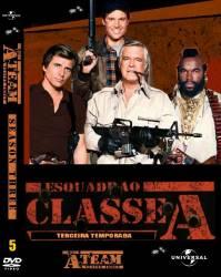 DVD ESQUADRAO CLASSE A - 3 TEMP - 5 DVDs