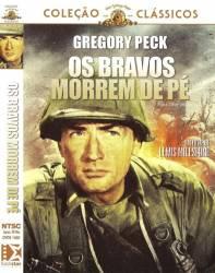 DVD OS BRAVOS MORREM DE PE - GREGORY PECK