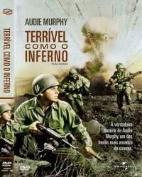 DVD TERRIVEL COMO O INFERNO - AUDIE MURPHY