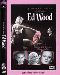 DVD ED WOOD - DUBLADO - JOHNNY DEPP