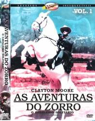 DVD ZORRO VOL 1 - CLEYTON MOORE