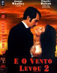 DVD E O VENTO LEVOU 2 - JOANNE WHALLEY
