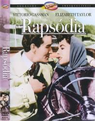 DVD RAPSODIA - ELIZABETH TAYLOR