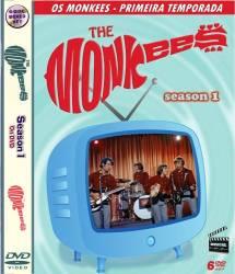 DVD OS MONKEES - 1 TEMP - 6 DVDs